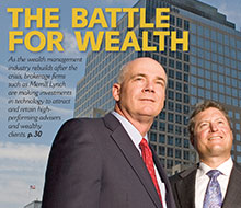 Wall Street & Technology Wealth Cover Story
