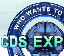 Who Wants to Be a CDS Expert iPad Game