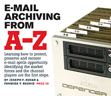 CRN Tech Email Archiving From A–Z Cover Story